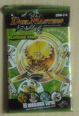 Duel Masters DM 04 - Shadowclash of Blinding Night - Booster (Neu & OVP) engl