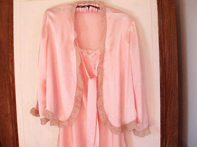 Nightgown and jacket Lingerie Handmade Birthday present Film/dressing up  size M