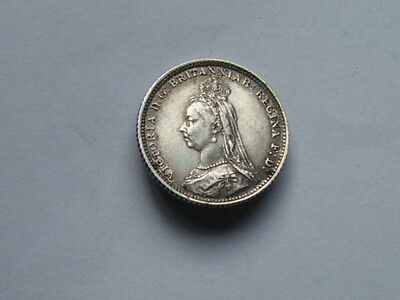 Victoria Groat Dated 1888 Mega High Grade Rare