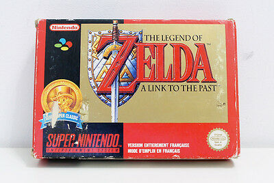 Super Nintendo Snes - The Legend of Zelda - Link to the Past (SFRA) BOITE SEULE