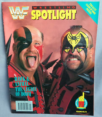 WWF LEGION OF DOOM SPOTLIGHT WRESTLING MAGAZINE 1991 wwe