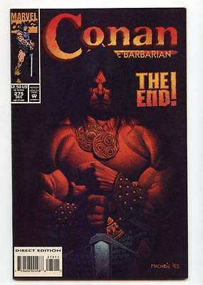 Conan The Barbarian #275 Final Last Issue Scarce Marvel Comics 1993