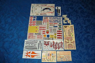Lot Of 10 Hot Rod, Car, Truck, Decal Sheets 1/24 & 1/25 Scale