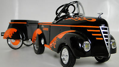Pedal Car Rare 1940s Ford A Vintage Hot Rod Sport Midget Metal Show Model 1939 T