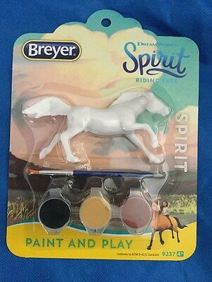 Breyer Collectible Dreamworks Spirit Paint & Play