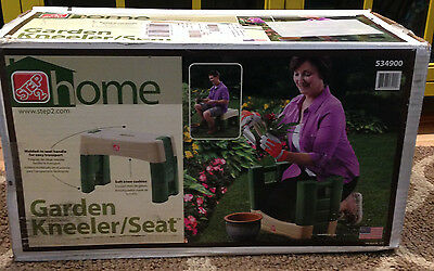 Step 2 534900 Easy Up Combination Home Garden Kneeler Seat Stool~NEW In Box