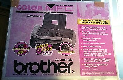 Brother FAST COLOR Printer / Scanner / Copier / Fax Machine MFC3360C