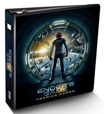 Ender's Game trading cards sealed Collector's Album Binder, Cryptozoic 2014