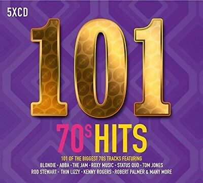 Various Artists - 101 70s Hits / Various [New CD] UK - Import