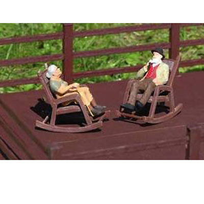 Piko G Scale Rocking Chairs (2) Kit | Ships In 1 Business Day | 62295