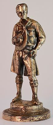 """R.Tait McKenzie  Ideal Scout   8.25""""   VERY OLD EXAMPLE   Statue Sculpture Medal"""