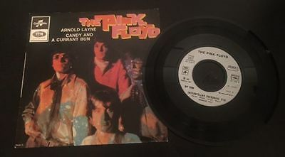 """Pink Floyd '' Arnold Layne '' French Picture Sleeve, Rare Promo 7"""""""