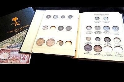 Saudi Arabia 2 Albums for Coins, 1924-1960 and 1963-2010.