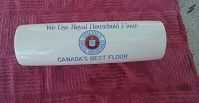 Ogilvie's Royal Household Flour Rolling Pin Canada's Best Flour