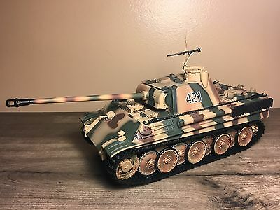 Ultimate Soldier 21st Century Toys FOV 1:32 WWII German Panther Panzer Tank