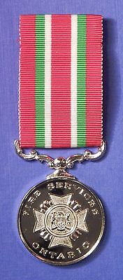 Ontario Canada Fire Services Long Service Medal                           Ab0488