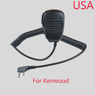 Remote Speaker Microphone For KENWOOD K2130 TK3206 TK3400 TK3312 NX340 RADIO