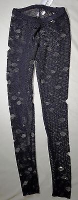 NEW Pumpers Black mesh with holes Pants Tights Adult S