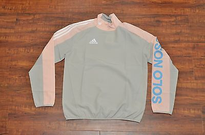 Kith Flamingo Piste Warm-Up L/S Top Grey Small S Ronnie Fieg Adidas Cobra Jersey