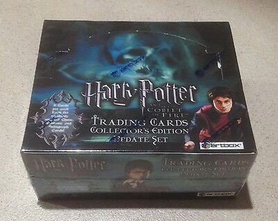 """2006 Artbox """"Harry Potter and the Goblet of Fire (Update Set)"""" - Sealed Box"""