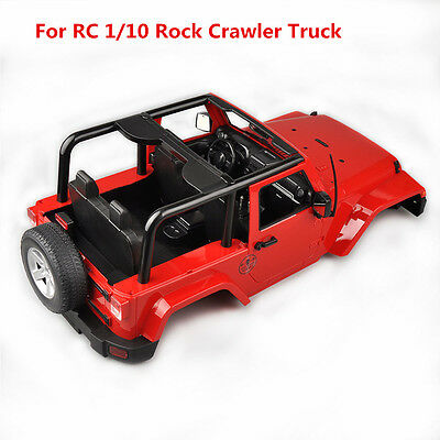 Hard Canopy Body Shell For Jeep Wrangler RC 1/10 SCX10/D90 Rock Crawler Truck
