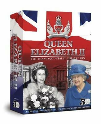 Queen Elizabeth II DIAMOND JUBILEE COLLECTION TRIPLE PACK [DVD] - DVD  1OVG The