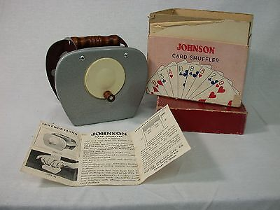 Rare old Johnson Card Shuffler #50