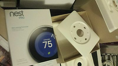 Brand New NEST PRO THERMOSTAT WHITE WALL PLATE New/Unused. 1st, 2nd or 3rd Gen.
