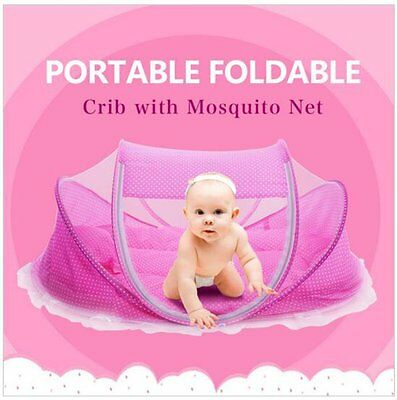 Bersun travel crib ,baby tent, baby bed ,Instant Pop Up Portable Baby Travel Bed