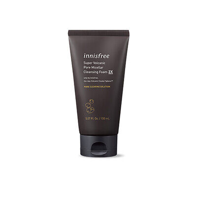Innisfree Jeju Volcanic Pore Scrub Foam 150ml Free gifts