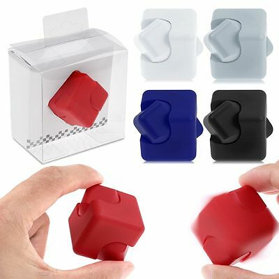 Newest Fidget Cube Hand Finger Spinner Stress Relief Focus ADHD Toy special gift