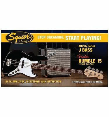 Squier Affinity J-Bass Rumble 15 Amp Bk