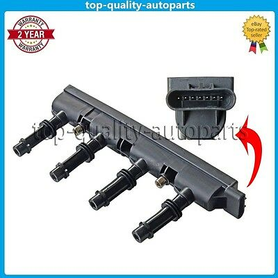 For Opel Vauxhall Astra J 1.4 Adam Corsa D 1.2 1.4 Ignition Coil Pack 7 Pin--NEW