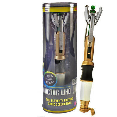 Doctor Who11th Sonic Screwdriver Official Electronic Light+Sounds Props Toy Doll