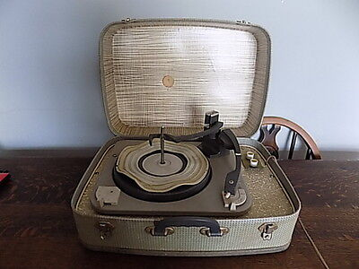 1950's/60's~Baird Portable Record Player~Retro~Vintage