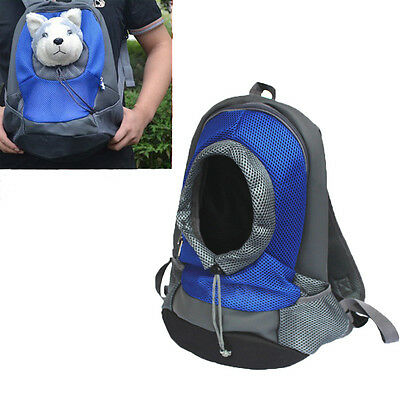 L Size Pet Carrier Back pack Small Cat Dog Travel Bag Front Carrying Double Bags