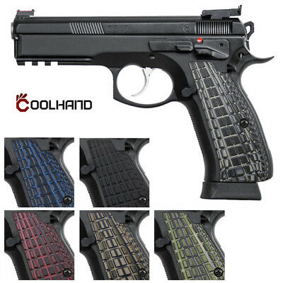 CZ 75 FULL Size G10 Gun Grips for Shadow 2 SP-01 75 B BD Tristar Coolhand  SP1-6