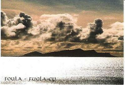 Foula, Shetland - from Culswick - Charles Tait postcard