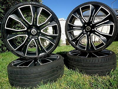 "Set of 4 ""PDW"" 22 Inch Sovereign Wheels 5x120"
