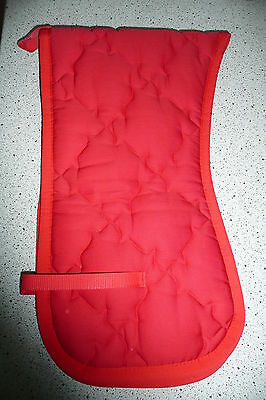 Lunging Strap Pad Lunging strap cover lunging strap pad red