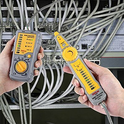 Line Finder Wire Tracker for Network Cable Collation Telephone Line Test Tools