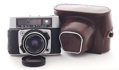 VINTAGE FED II Atlas Camera  with a 52mm f2.8 lens (1039)