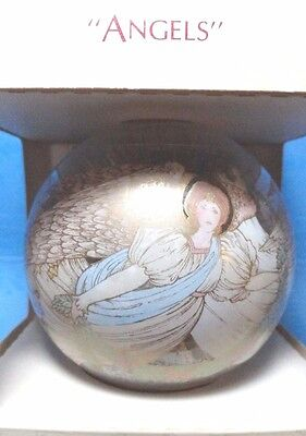 "Hallmark ""Angels"" Ball Ornament  Dated 1983"