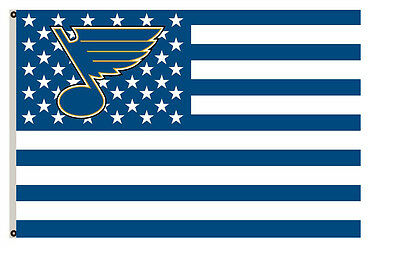 St. Louis Blues Flag with strpe and stars Flag A01 3x5ft