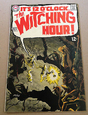 The Witching Hour # 3 - Bernie Wrightson & Alex Toth Art - Dc Comics 1969
