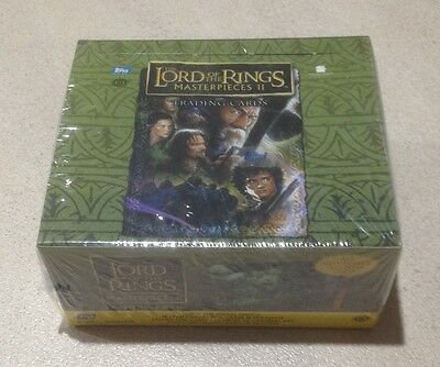 """2008 Topps """"Lord of the Rings - Masterpieces II (2)' - Factory Sealed Hobby Box"""