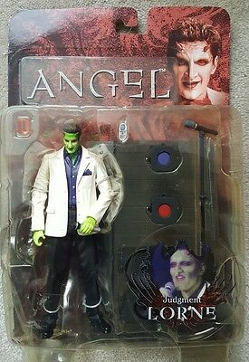 Angel Buffy 2006 Judgement Lorne Action Figure Diamond Select in box