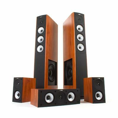 Jamo S 628 HCS 5.0 Heimkino Sound Speaker Lautsprecher Boxen HiFi dark apple