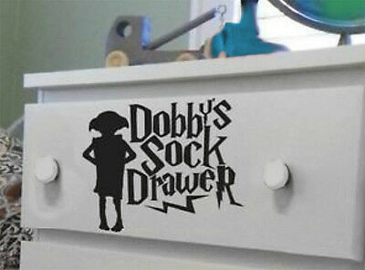 Harry Potter Dobbys Sock Drawer 10 Cm Home Car Decal Sticker Funny  High Quality