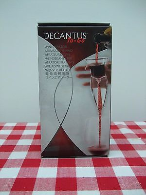 Decantus To Go Wine Aerator New in Box Ideal Gift
